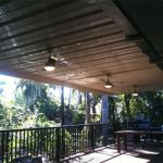 Domestic Ceiling Fans Installation to Patio Area