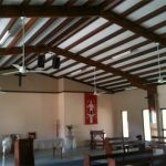 Replacement of ceiling fans in church cathedral ceilings Darwin