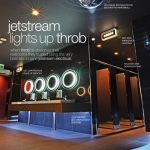 Jetstream lights up Throb