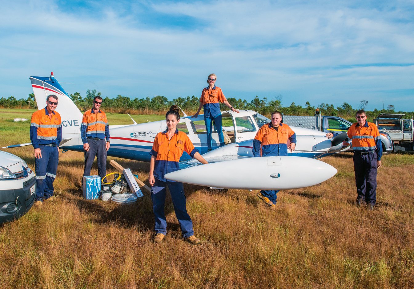 Jetstream Electrical Team